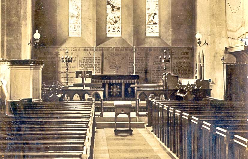 St Mary, Guarlford about 1900