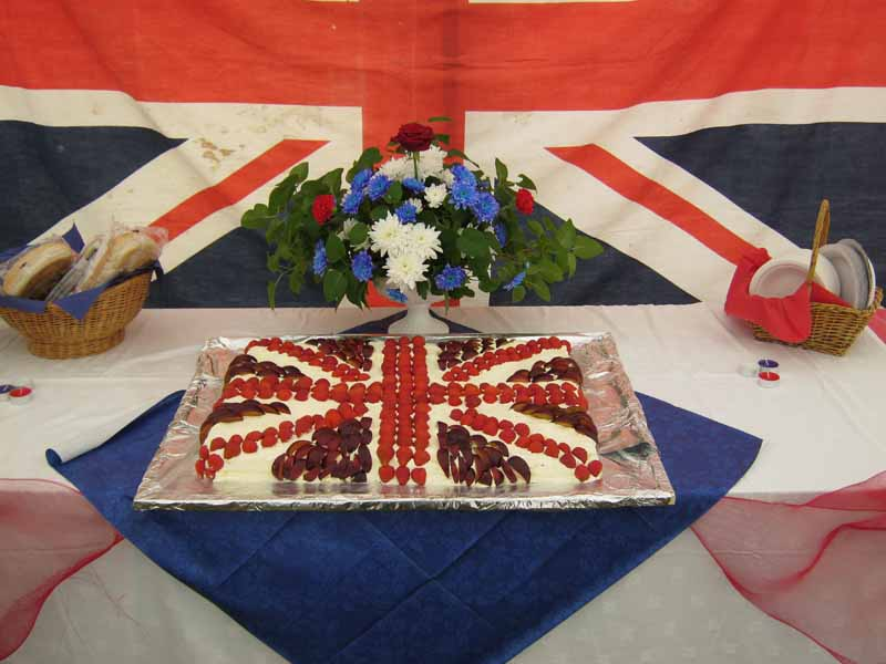 The Jubilee meringue cake