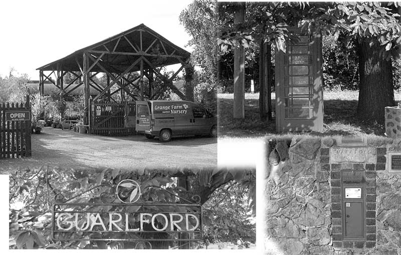 Montage of Guarlford village