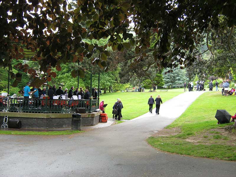 Band in Priory Park