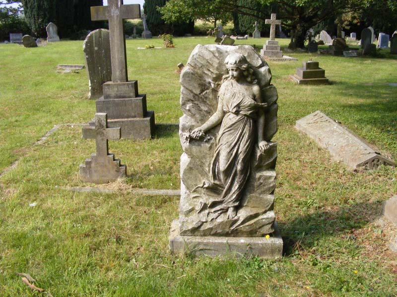 Headstone of a maiden