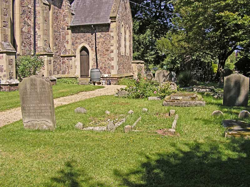 South side of churchyard