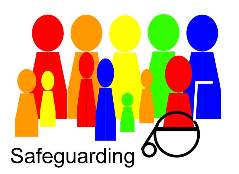 Safeguarding logo and link