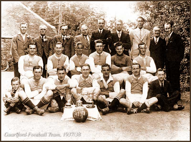 Guarlford 1937/8 football team